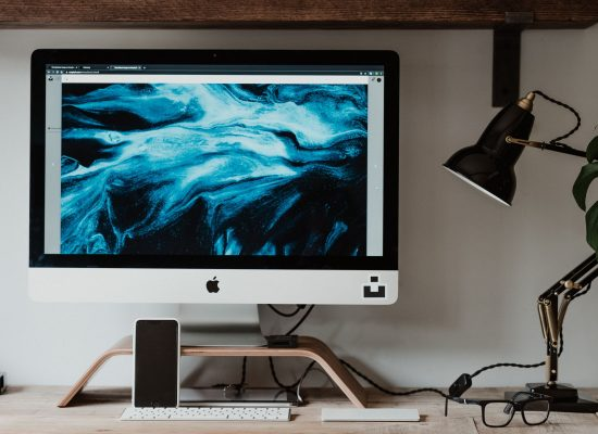 Computer set up at home